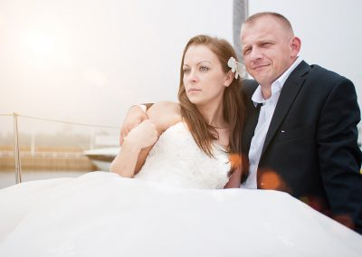 Justyna i Dawid – sesja nad morzem